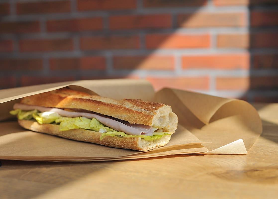 Sandwich jambon complet Yummy La Baule